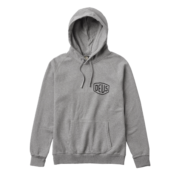 Deus Venice Address Hoodie - grey