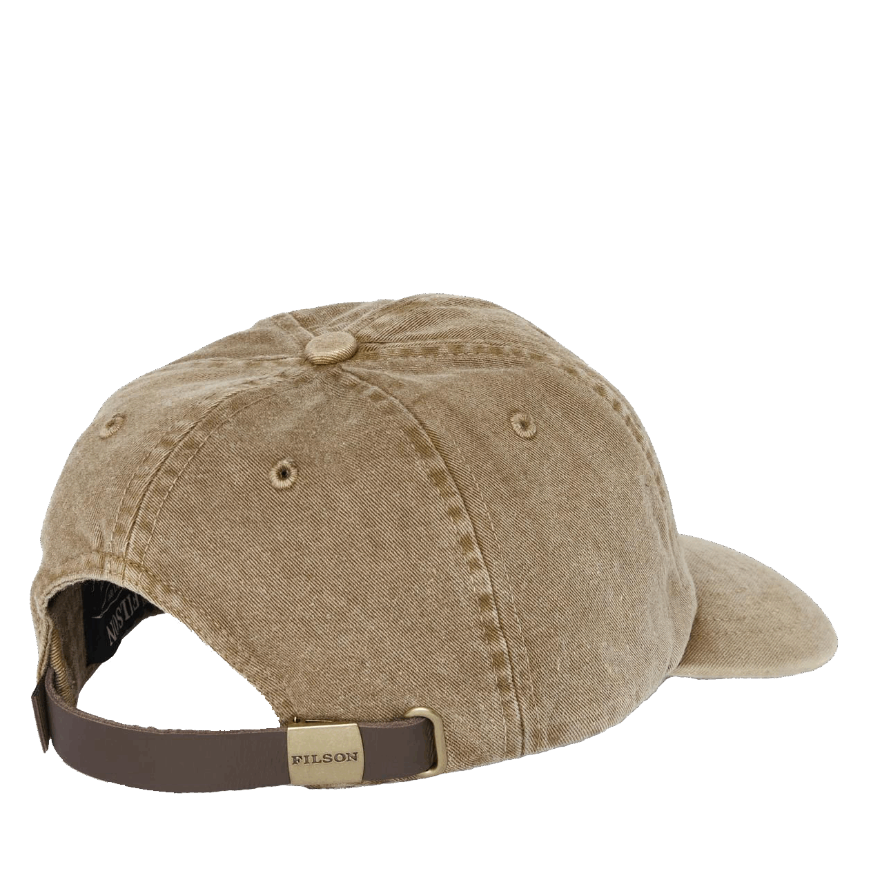 Filson Washed Low-Profile Cap - bronce