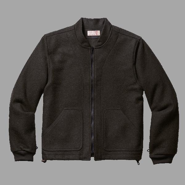 Filson Wool Jacket Liner - Characoal