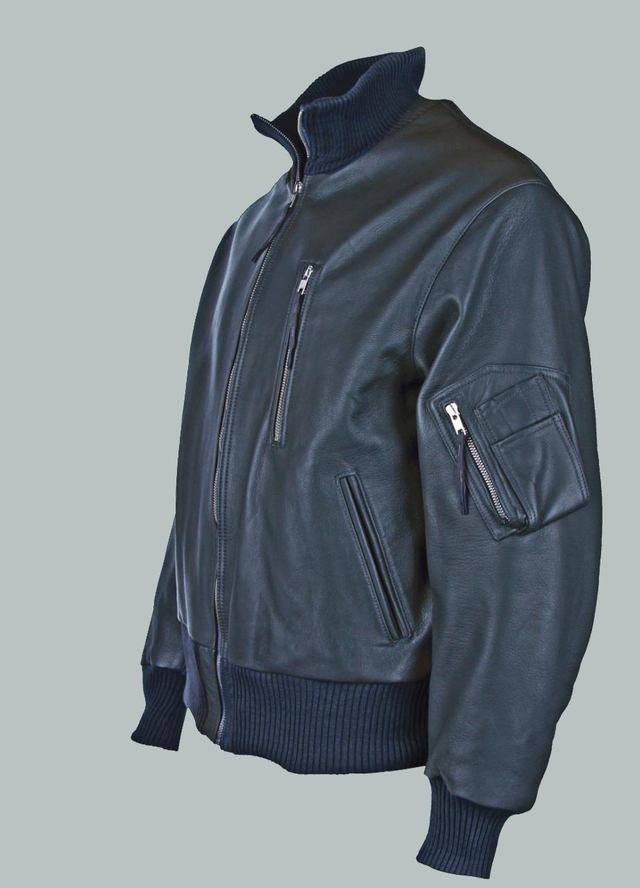 Original Flight Jacket - Bundesluftwaffe with Side Pockets - marineblau