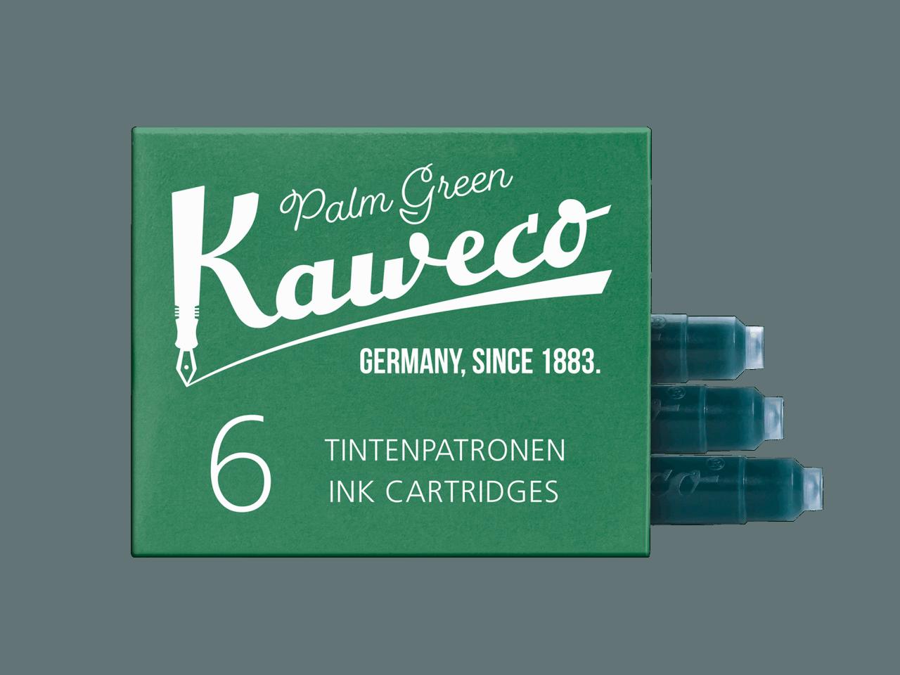 Kaweco Tintenpatronen 6 Stück - Palmengrün