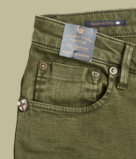BLUE DE GENES Fredo Axo Jeans - winter moss