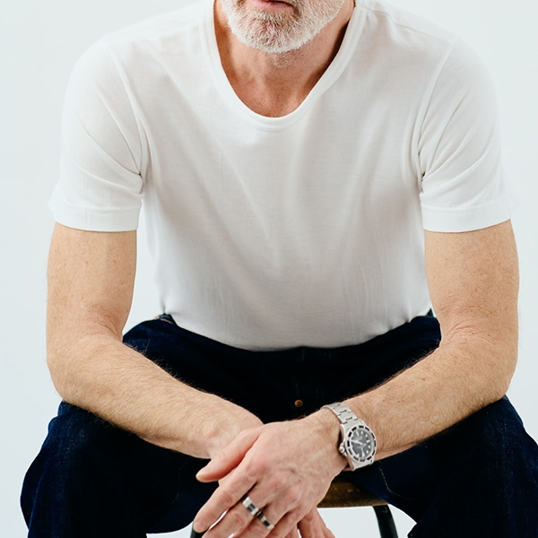 Merz b. Schwanen 1950's T-Shirt - white