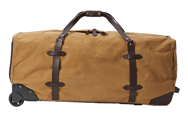 Filson Extra Large Rugged Twill Rolling Duffle Bag - Tan