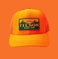Filson Logger Mesh Cap - Orange