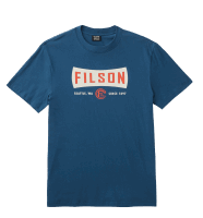 Filson Lightweight Outfitter Graphic T-Shirt - blue