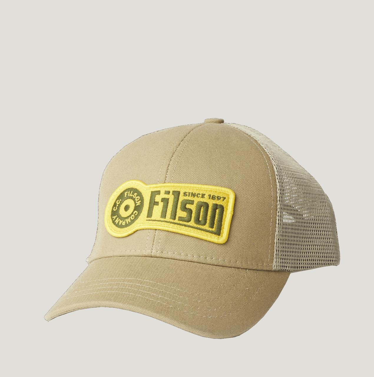 Filson Logger Mesh Cap - khaki