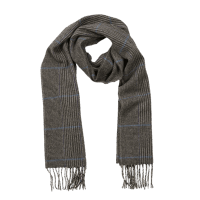 John Hanly Irish Wool Scarf - Denim