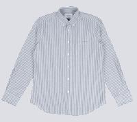 Portuguese Flannel Belavista Stripe - grey