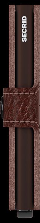 Secrid Miniwallet - Veg - espresso brown