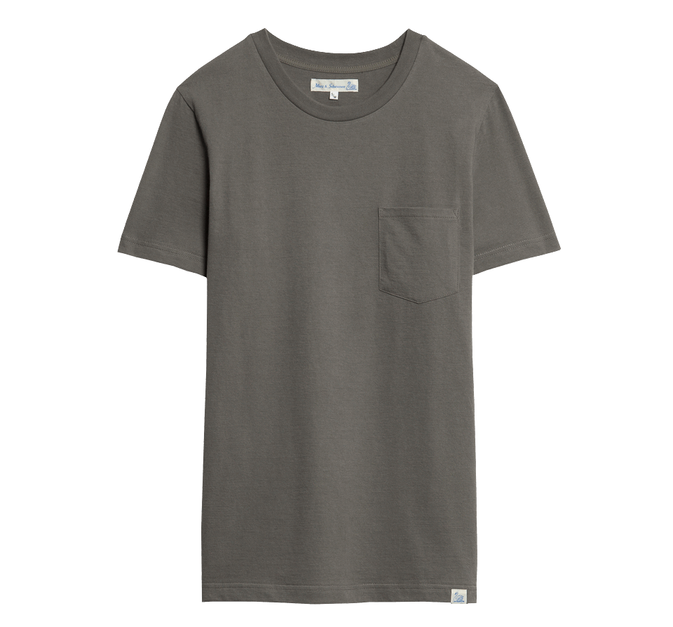Merz beim Schwanen Basic Pocket T-Shirt - Army