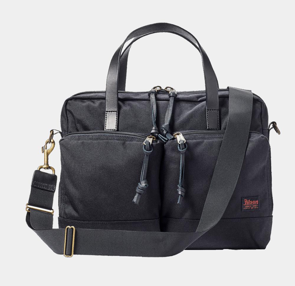 Filson Dryden Briefcase - dark navy