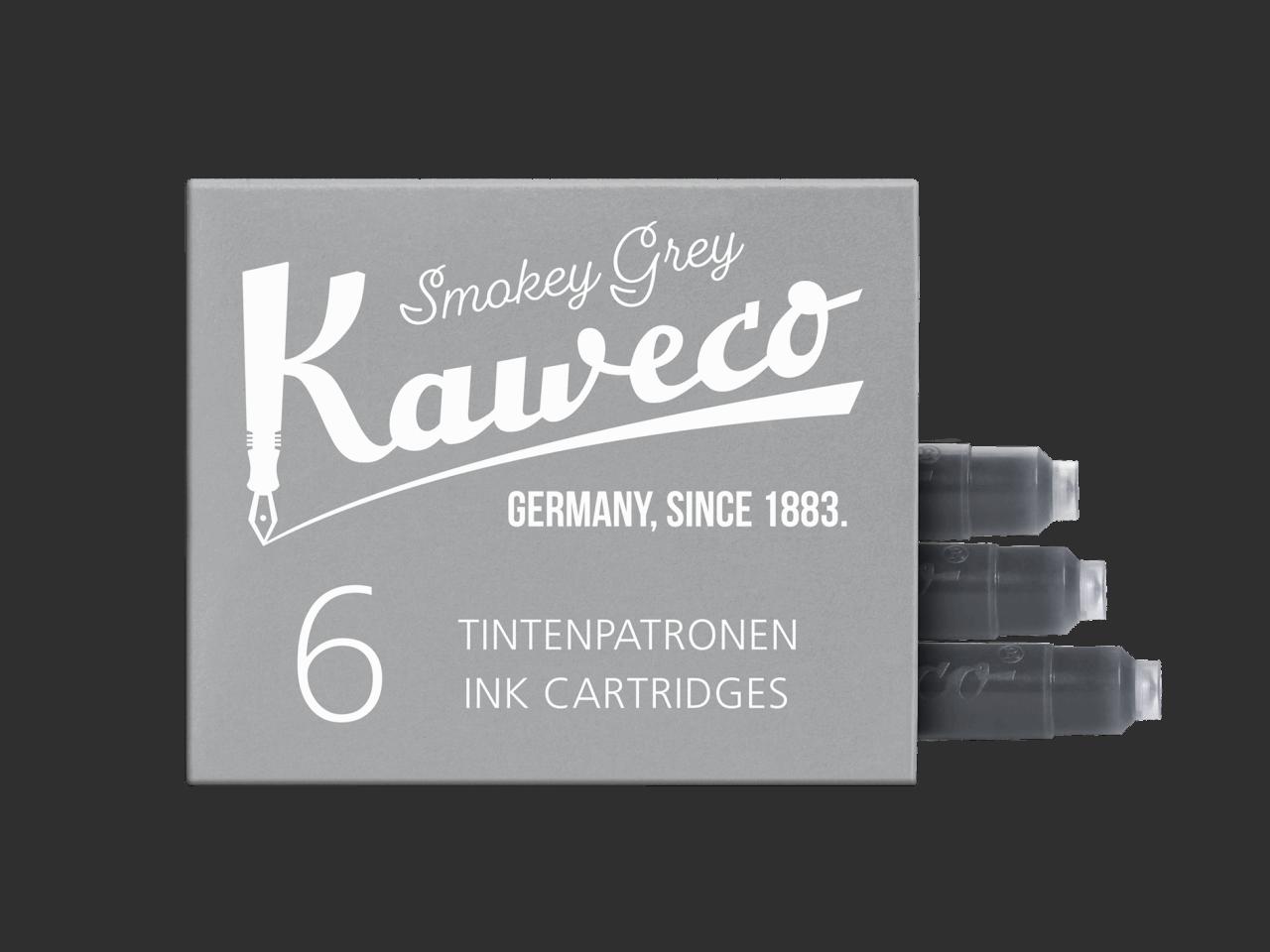 Kaweco Tintenpatronen 6 Stück - Smoke Grey