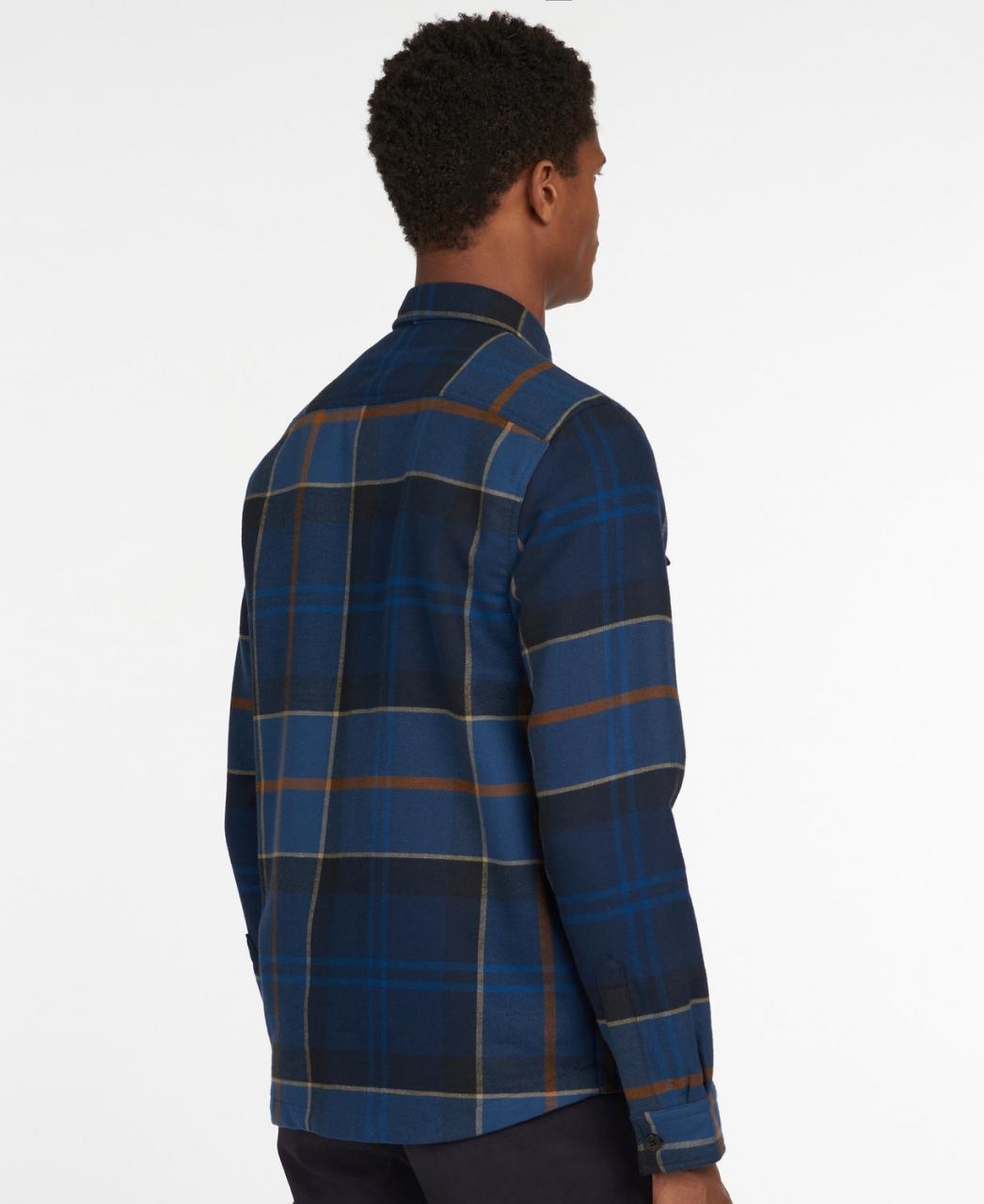 Barbour Cannich Overshirt - midnight tartan