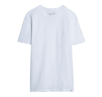Merz b. Schwanen Basic Pocket T-Shirt - White