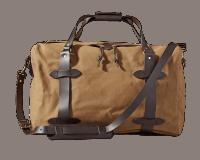 Filson Medium Rugged Twill Duffle Bag - Tan