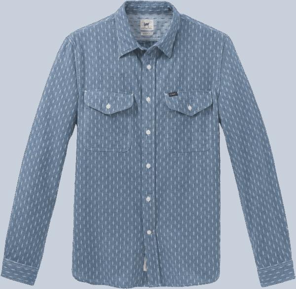 LEE Army Shirt, night blue