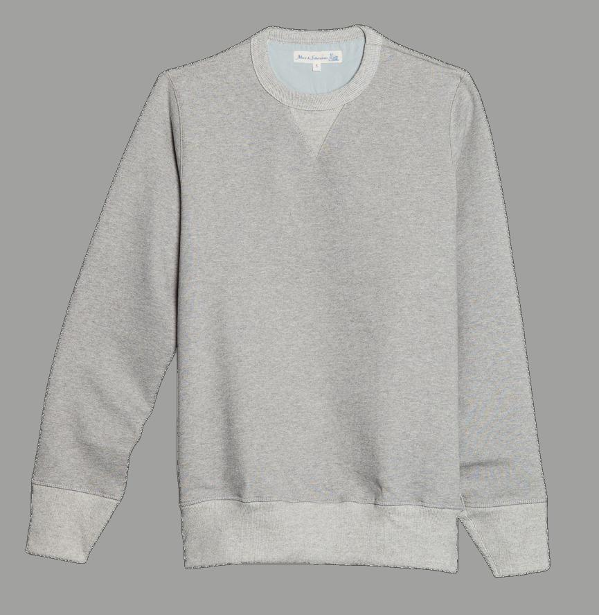 Merz b. Schwanen G.O. Sweatshirt Schwer - grey melange