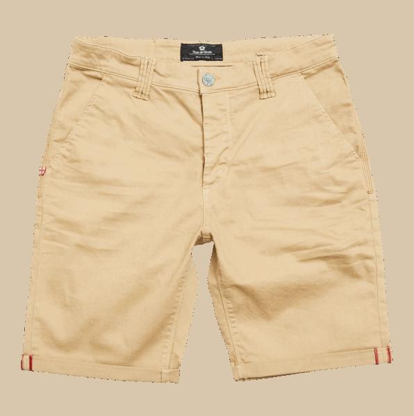 BLUE DE GENES Paulo Pavia N12 Shorts, khaki