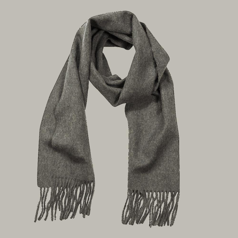 John Hanly Irish Wool Schal - Charcoal