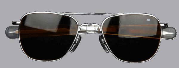 American Optical - Original-Pilot / silver-amber