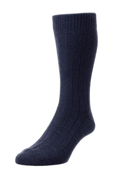 Pantherella Packington Merino Wool - charcoal