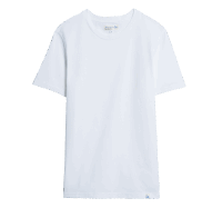 Merz b. Schwanen Basic T-Shirt - White