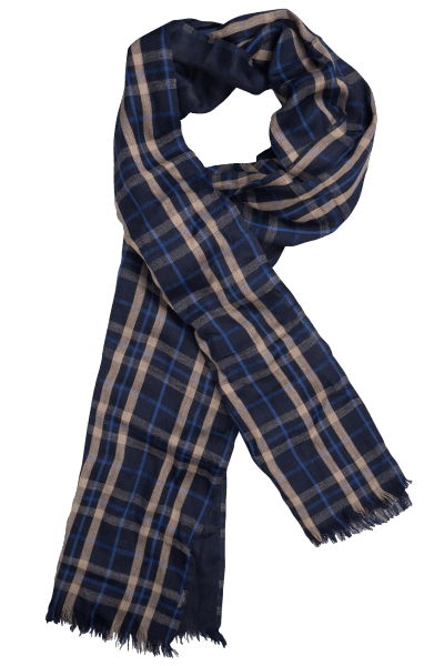 Saint James CHECHE H.CARR Scarf Navy/Liege