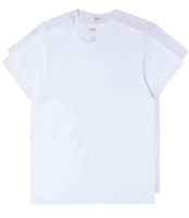 Edwin Double Pack T-Shirt - white