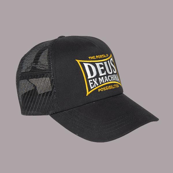 Deus Twinbox Trucker - Black