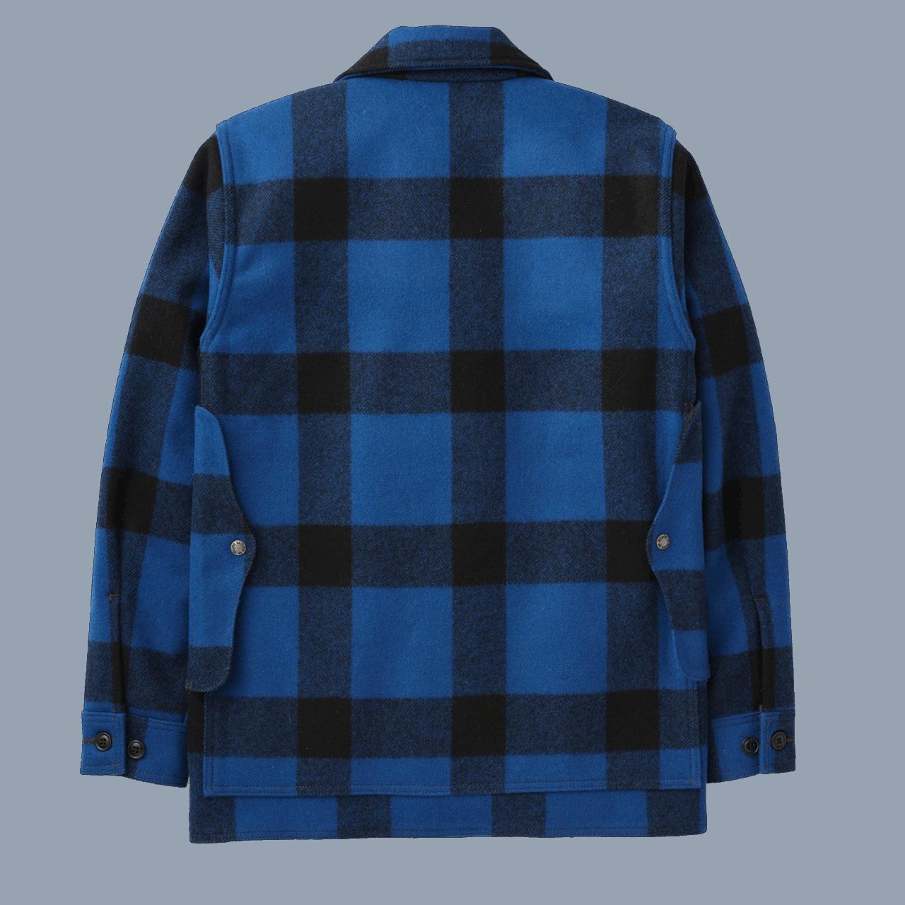 Filson Mackinaw Cruiser - cobalt blue /black