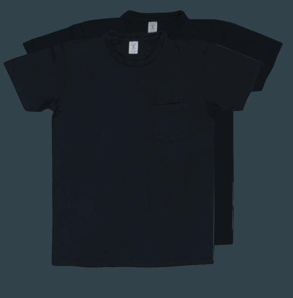 Velva Sheen 2Pac Pocket Tee Black