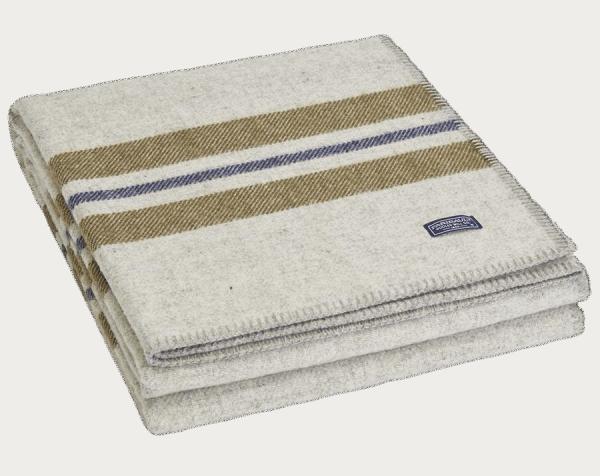 Faribault Cabin Blanket Smoke 125x180cm / 50x72 inch