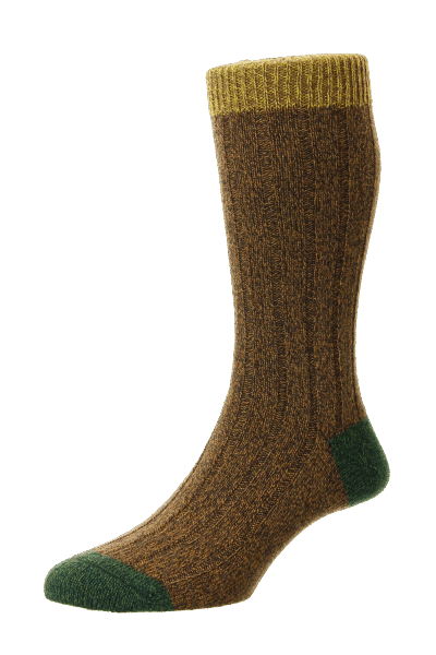 Scott Nickol Burghley Socken - conker