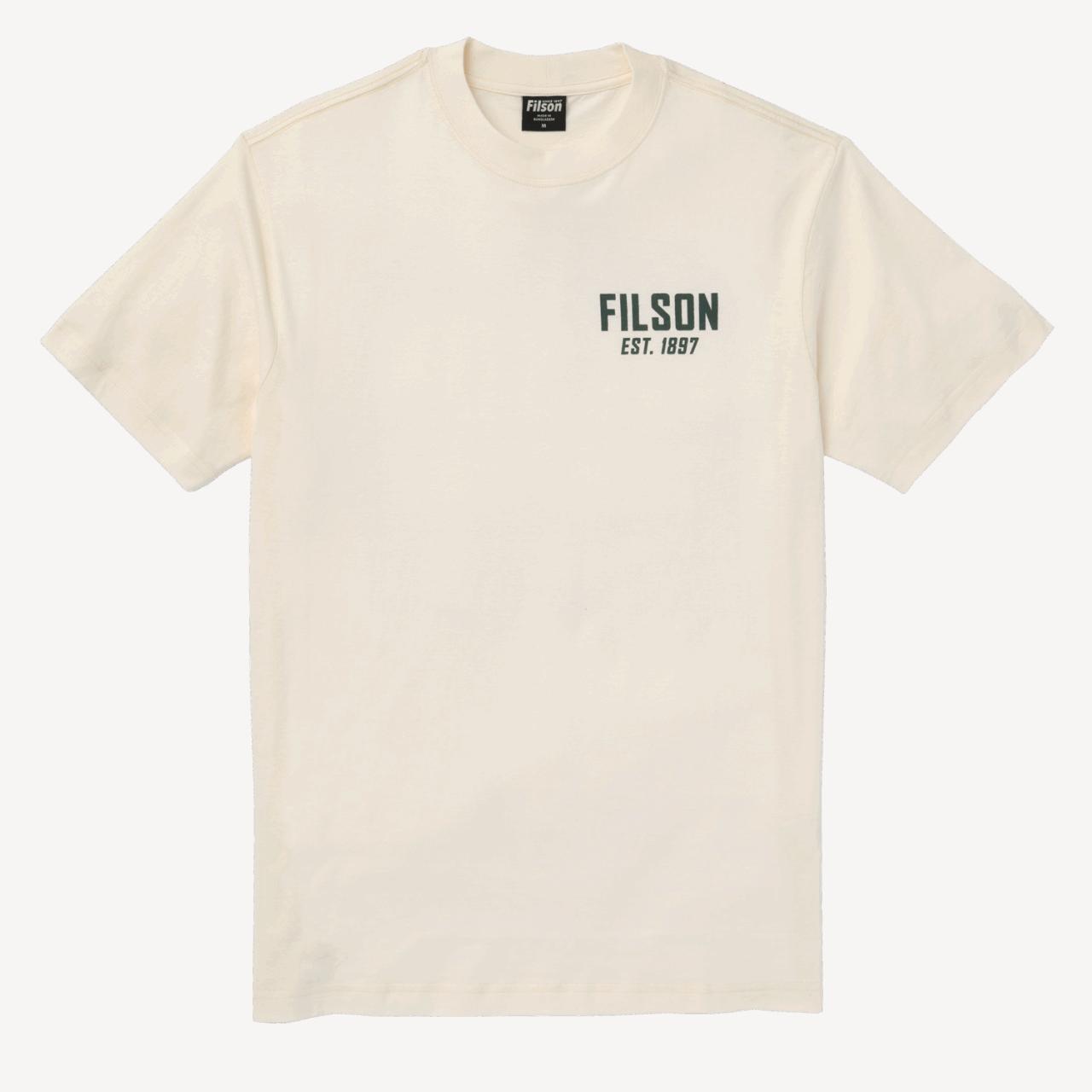 Filson Ranger Graphic T-Shirt - offwhite