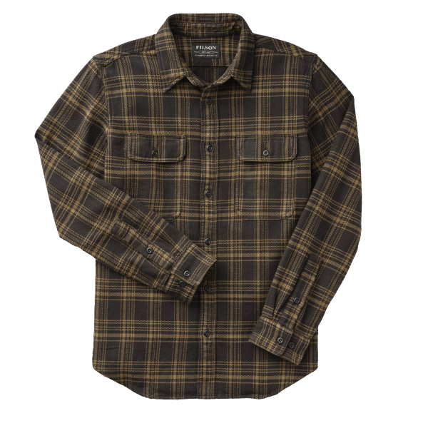 Filson Vintage Flannel Work Shirt - black/olive