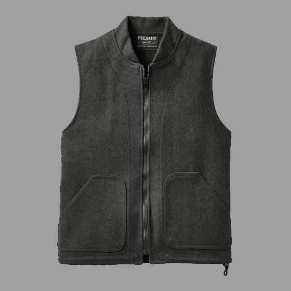 Filson Wool Vest Liner - Charcoal