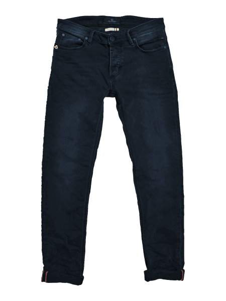 BLUE DE GENES Vinci Colon Jeans - Wash Blue