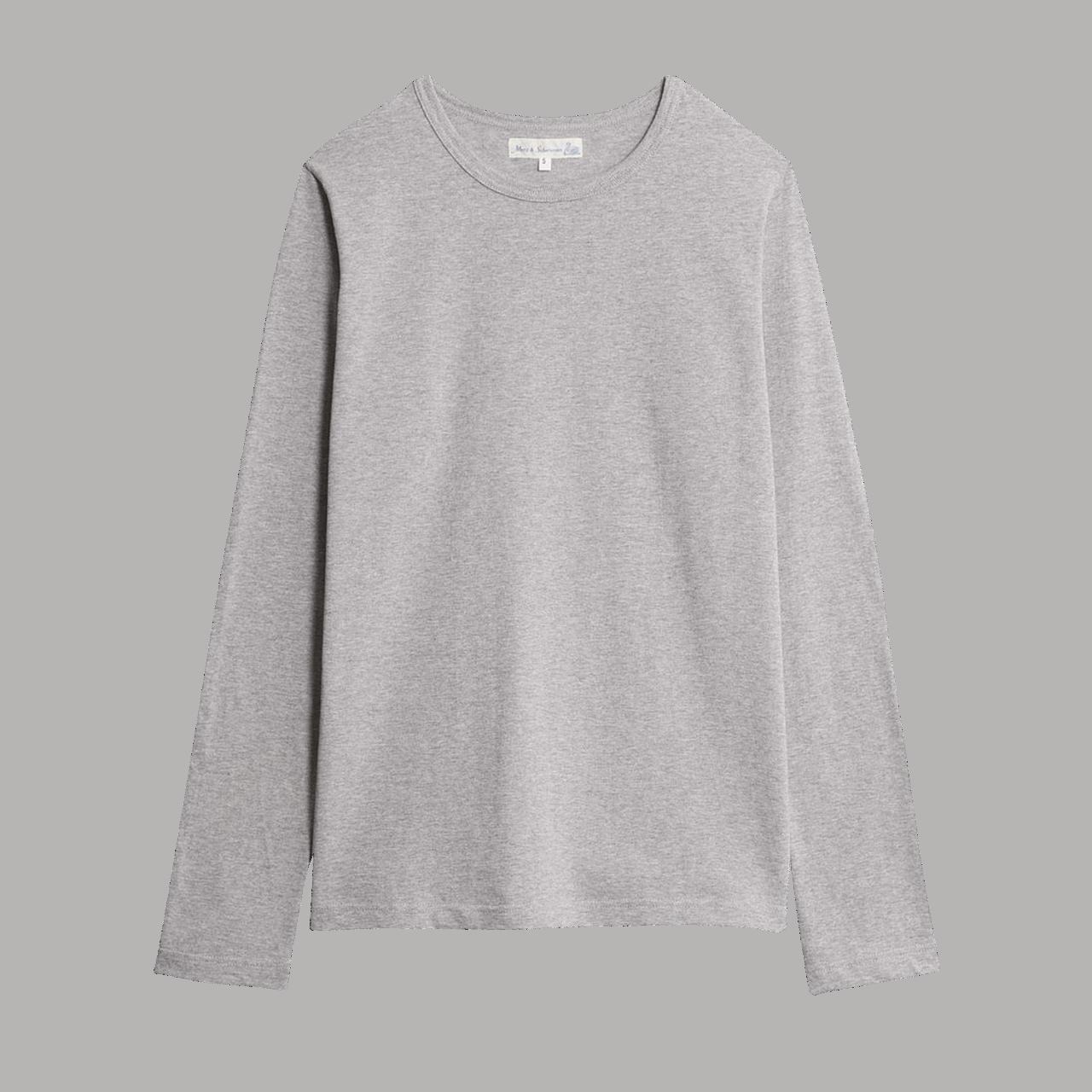 Merz b. Schwanen 1950's Longsleeve -Shirt - grey