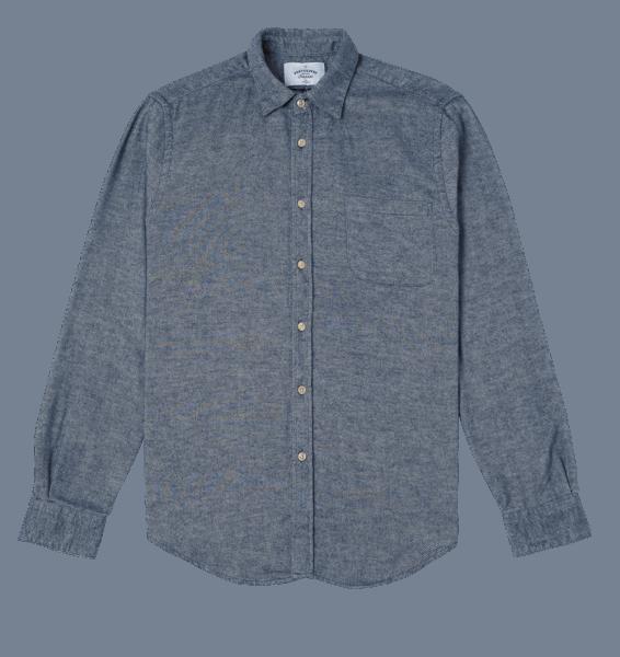 Portuguese Flannel Teca GRAYED BLUE