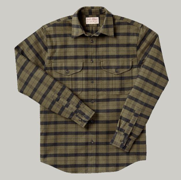 Filson Alaskan Guide Shirt ottergreen-black