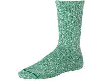 Red Wing Cotton Ragg Sock - green/white