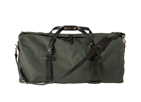 Filson Large Rugged Twill Duffle Bag - Otter Green