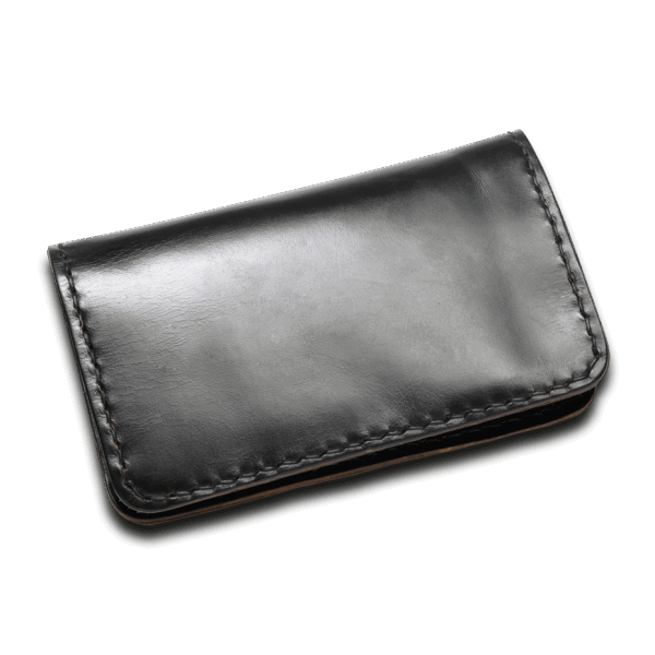 Coronado Leather Horsehide Portfolio Wallet Black