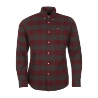 Barbour Malton Tailored Shirt - winter red