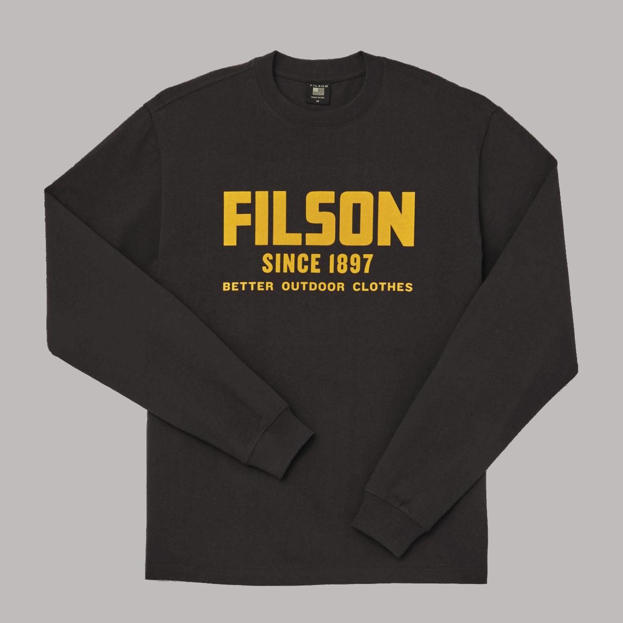 Filson Pioneer Graphic Longsleeve - black