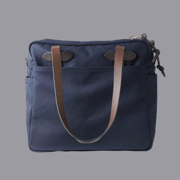 Filson Zip Tote Bag - Navy