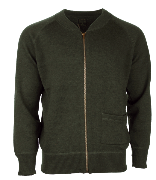 Pike Brothers 1943 C2 Sweater Oliv Drab