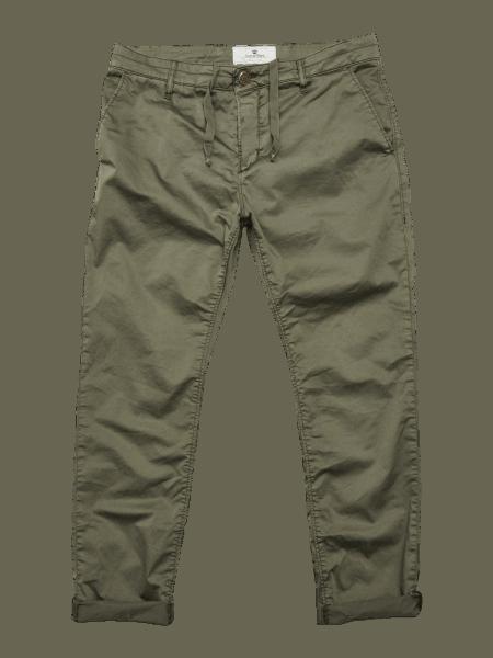BLUE DE GENES Leza Shaska Trouser - Army Green