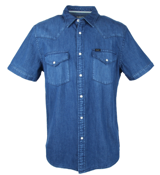 LEE Western Shirt, medieval blue